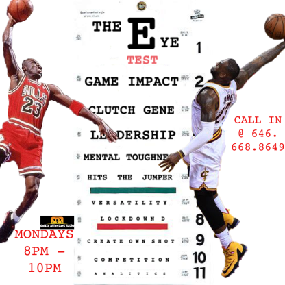 MJ vs LBJ on The Chart