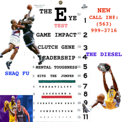 Shaq Fu vs Shaq Diesel on The Chart