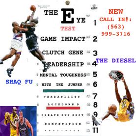 Shaq Fu vs Shaq Diesel on The Chart